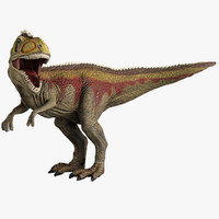 giganotosaurus toy 3d model