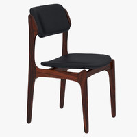 Erik Buck Danish Rosewood Dining Chair
