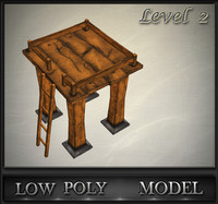 3ds wood tower lvl 2