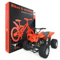 3d bike stroller model