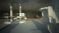 c4d spaceship