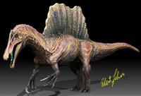 3d model spinosaurus spino