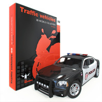 3d max traffic vehicle