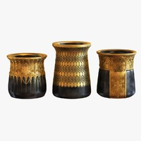 vases set arts 3d max