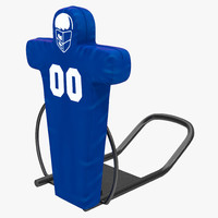 3d football tackling dummy model