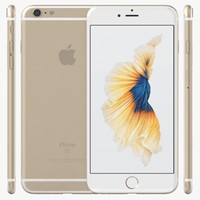 3d 3ds apple iphone 6s gold