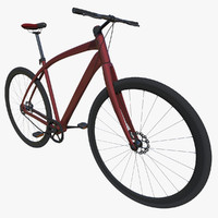 bicycle bike 3d model