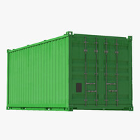 Collapsible ISO Container Green