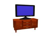 FlatPanel TV witn Cabinet