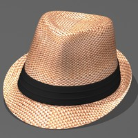 Fedora Straw Beach Hat