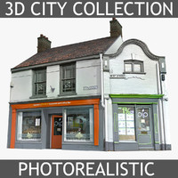 3d photorealistic brick house