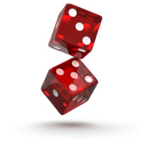 dice red 3d model