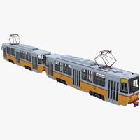 3d tatra t5c5 tram