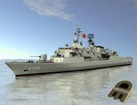 3d meko frigate yavuz class