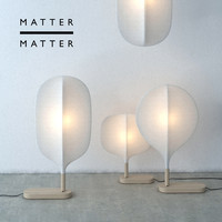 modern matter lamp chimney 3d obj