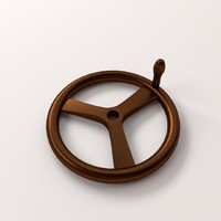 3ds max crank wheel
