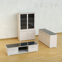3d furniture selva model
