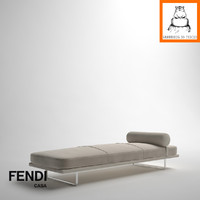 groundhog | fendi casa 3d model
