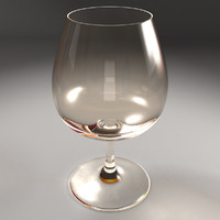 brandy glass 3d max
