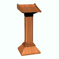 rostrum lightwave 3d model