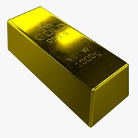 gold bar obj