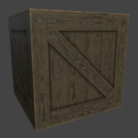 free ready crate 3d model