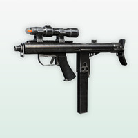 free max mode sidewinder submachine gun