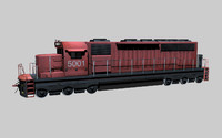 3d diesel engine cn model