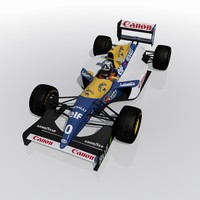 3d williams fw15c