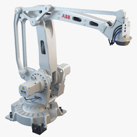 3d model abb irb 460 industrial robot