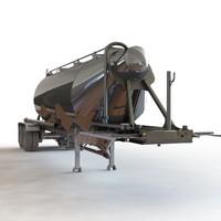 pneumatic tank 3d 3ds