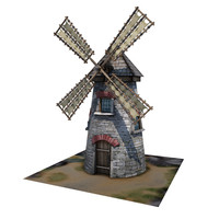 3ds max medieval wind buildings