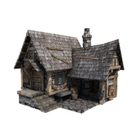 medieval blacksmith s forge 3d model
