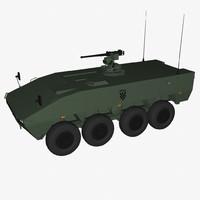 3d model of patria amv