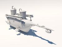 Submarine by Carl Schilder 1834 Russian Empire Boat