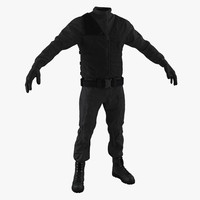 3d swat uniform 6