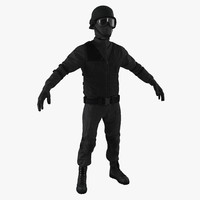 3d swat uniform 3