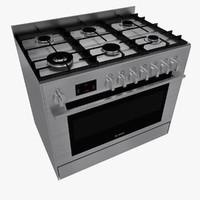 3d gas cooker bosch hsb738356a