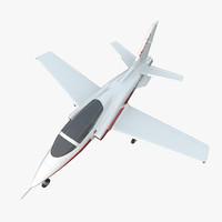 3ds max sport aircraft viperjet 2
