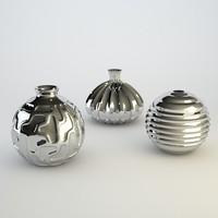 3d model of vases