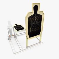 3d police target
