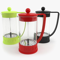 bodum brazil french press 3d model