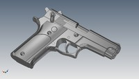 3d pistol smith
