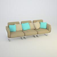 3d model sofas set