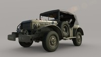 US Army Dodge WC-57 Command car