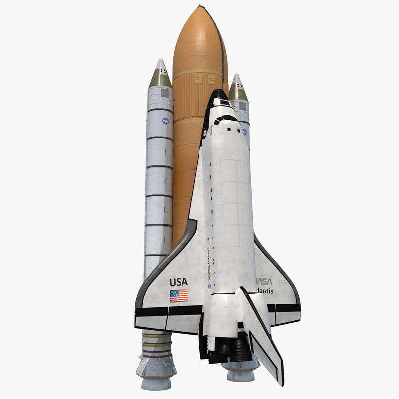 Space Shuttle With Boosters 3d model 00.jpg