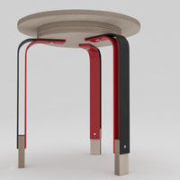 contemporary table obj