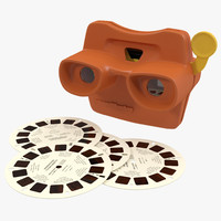 obj stereoscope view master set