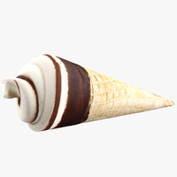 ice cream cone 3d 3ds