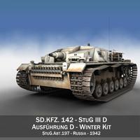 3d - stug abt 197 model